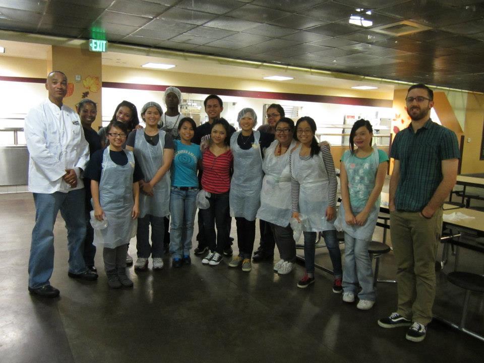 National Volunteer Week California State University Los Angeles Golden Ke