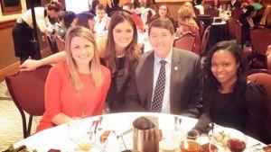 Melissa Decell, Tricia Forbes, Brad Rainey and Hamiyda Scipio