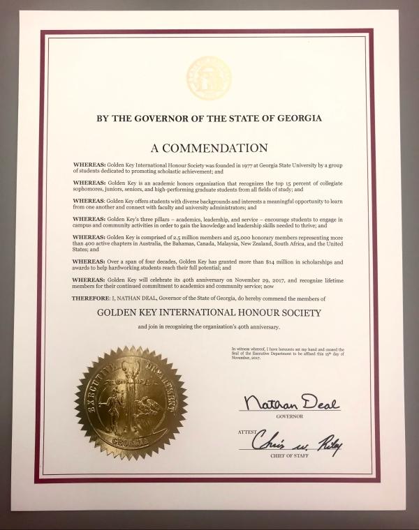 Proclamation Photo